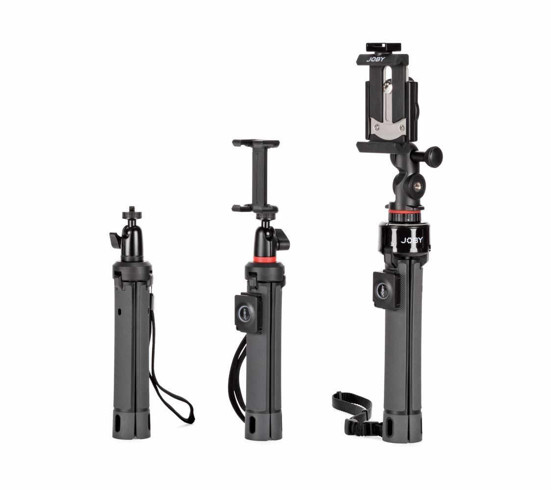 Polaroid Pistol Grip//Tabletop Tripod 2 Tripods in 1 Great for Shooting Video Or Tabletop Photography